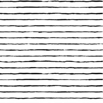 Bandeau Black Stripe