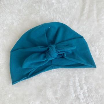 Turban en jersey Baby Blue