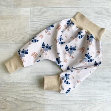 Sarouel Softshell Fleurs Navy