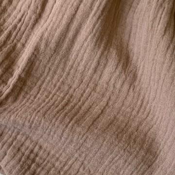 Robe bi-matière / Dusty Pink