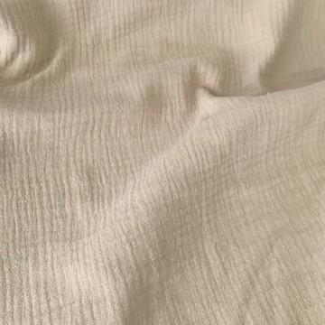 Robe bi-matière / Taupe