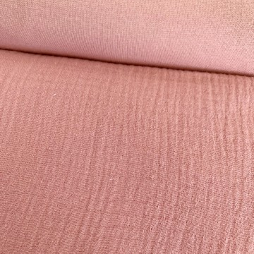 Robe bi-matière / Beige