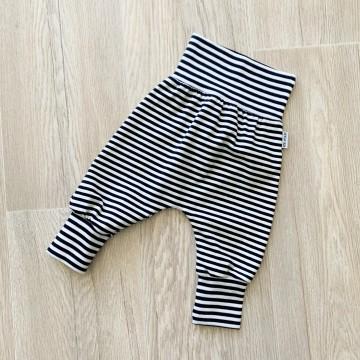 Sarouel Jersey Moutarde Stripes