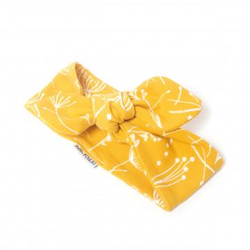 Bandeau Yellow Flower