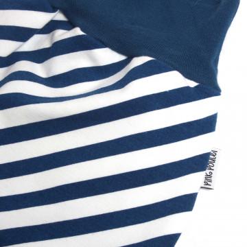 Bandeau Diagonale Bleu